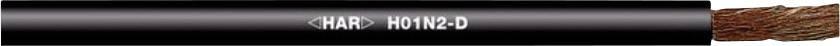 Zváracie vedenia H01N2-D LappKabel 2210702, 1 x 35 mm², čierna, metrový tovar