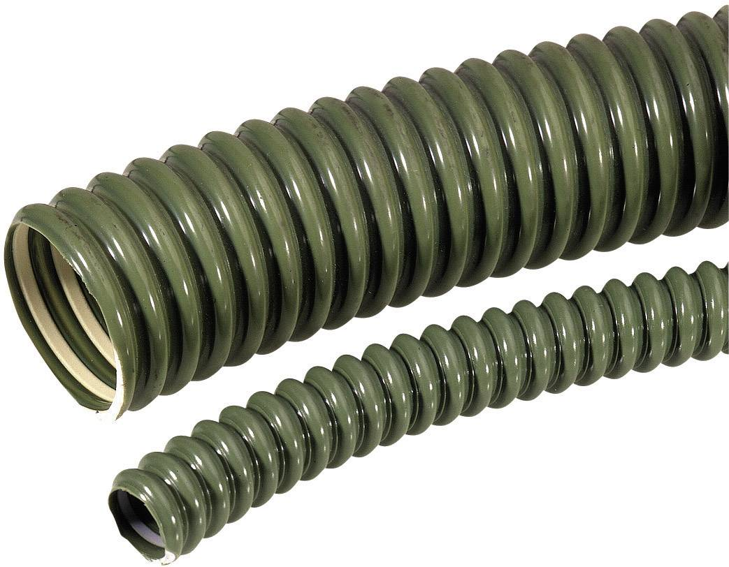 Ochranná hadica na káble LAPP SILVYN® ELÖ glatt 12,6x17,8 GN 61751621, 12.60 mm, zelená, 30 m