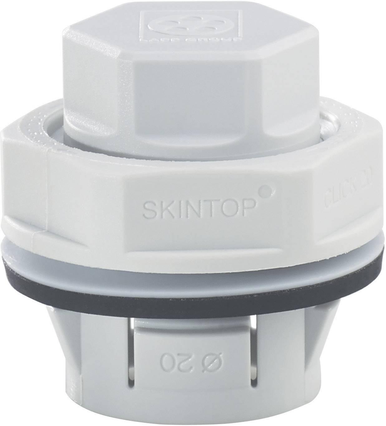 Záslepka LappKabel SKINTOP® CLICK BLK M25 LGY, polyamid, 1 ks