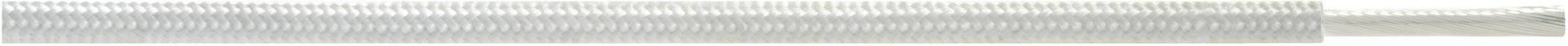 Vysokoteplotný drôt LappKabel 0091353 ÖLFLEX® HEAT 350 SC, 1 x 1.50 mm², vonkajší Ø 3.50 mm, metrový tovar, biela