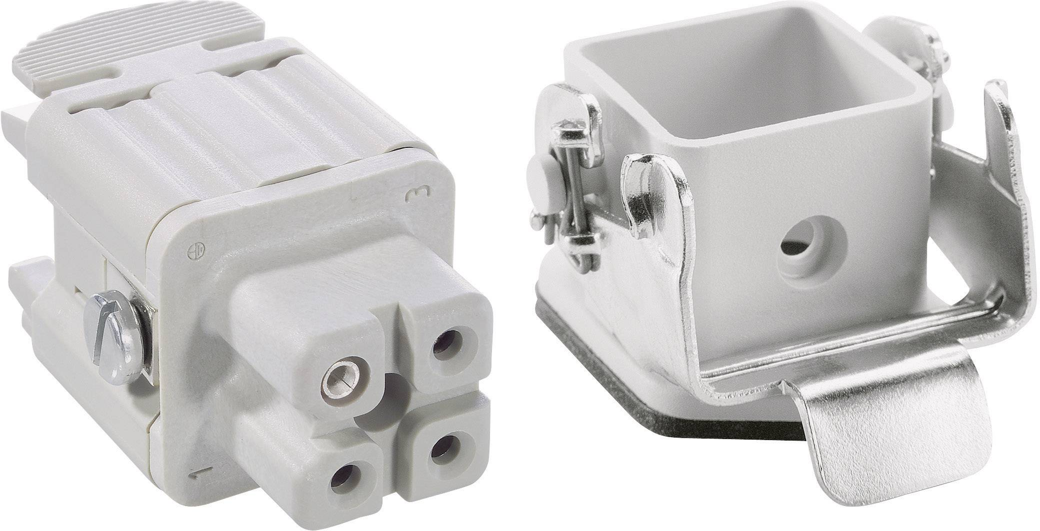 Sada konektorů EPIC®KIT H-A 3 75009605 LAPP 3 + PE šroubovací 1 sada