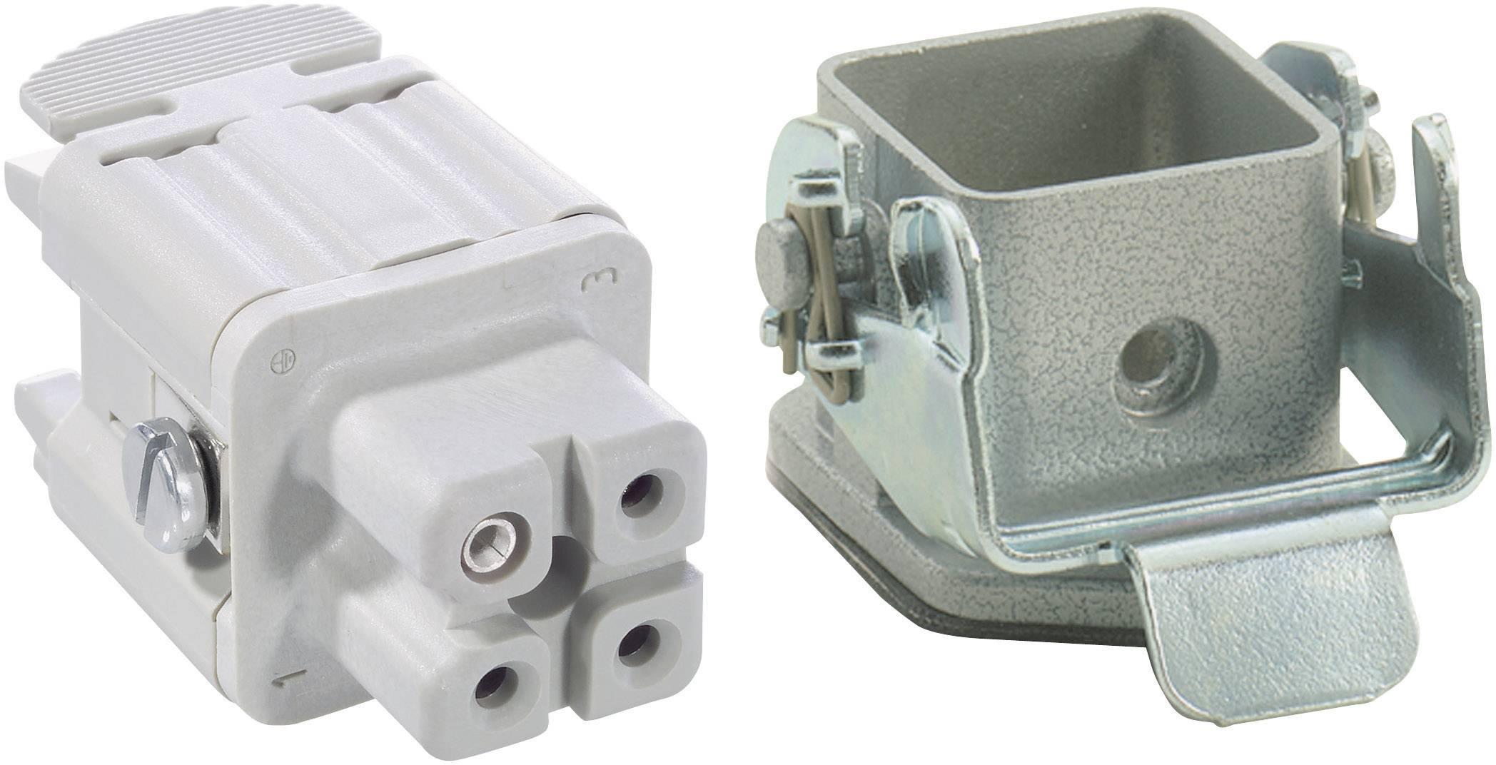 Sada konektorů EPIC®KIT H-A 3 75009606 LAPP 3 + PE šroubovací 1 sada
