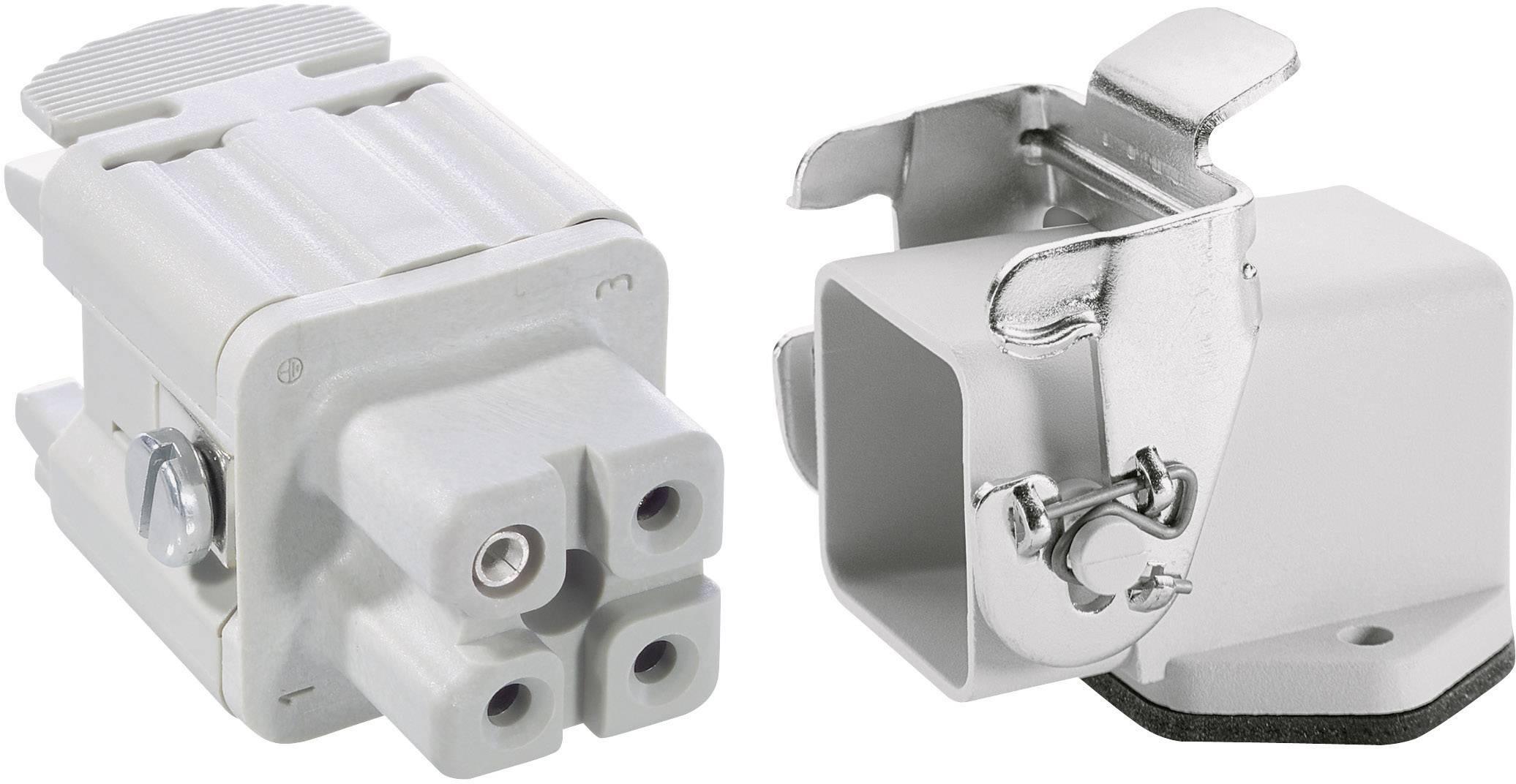 Sada konektorů EPIC®KIT H-A 3 75009607 LAPP 3 + PE šroubovací 1 sada