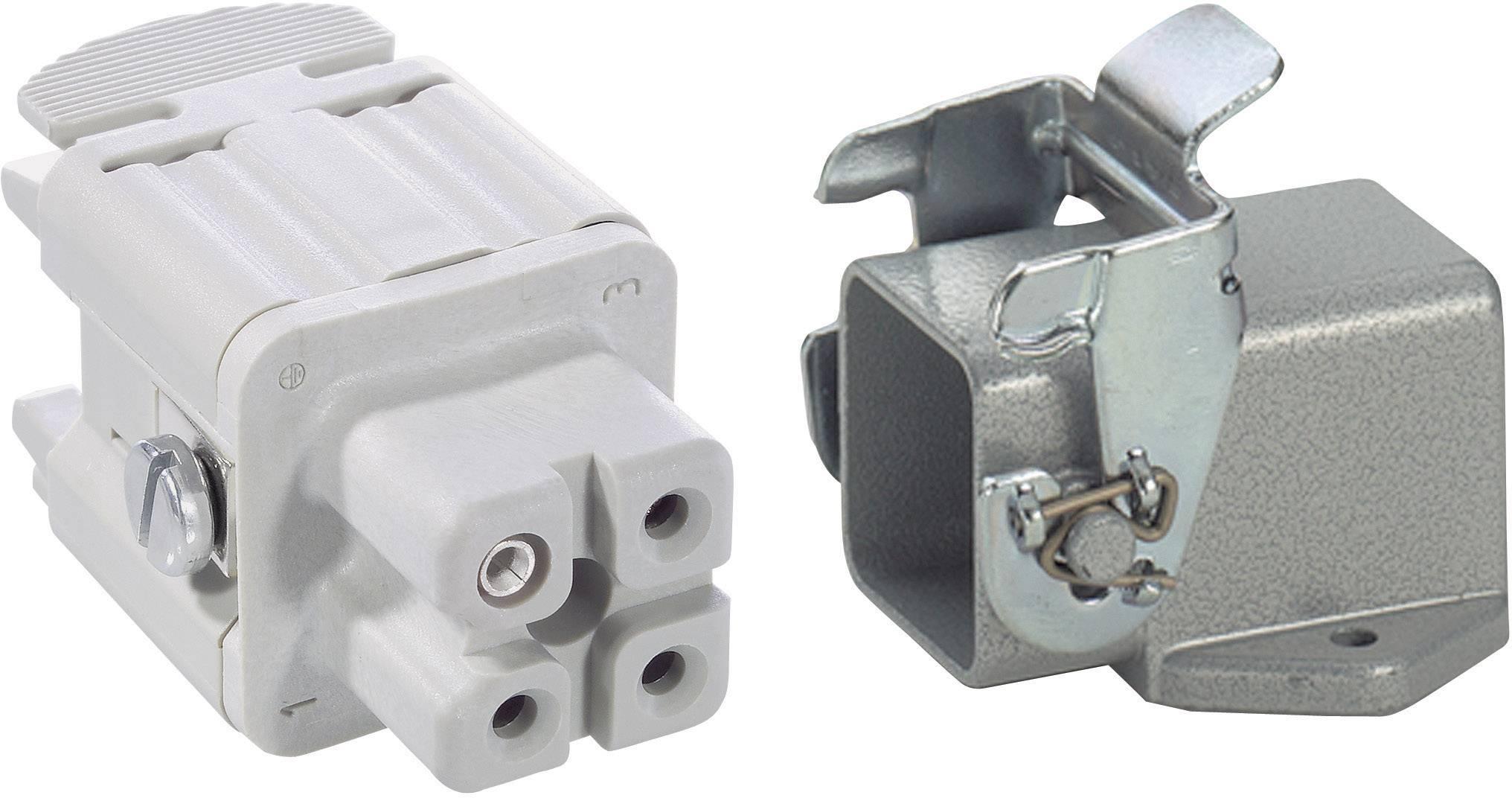 Sada konektorů EPIC®KIT H-A 3 75009608 LAPP 3 + PE šroubovací 1 sada