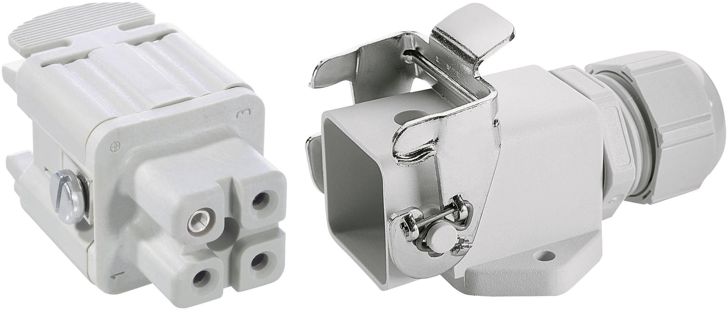 Sada konektorů EPIC®KIT H-A 3 75009609 LAPP 3 + PE šroubovací 1 sada
