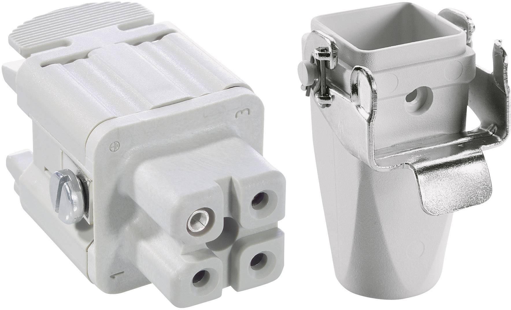 Sada konektorů EPIC®KIT H-A 3 75009611 LAPP 3 + PE šroubovací 1 sada