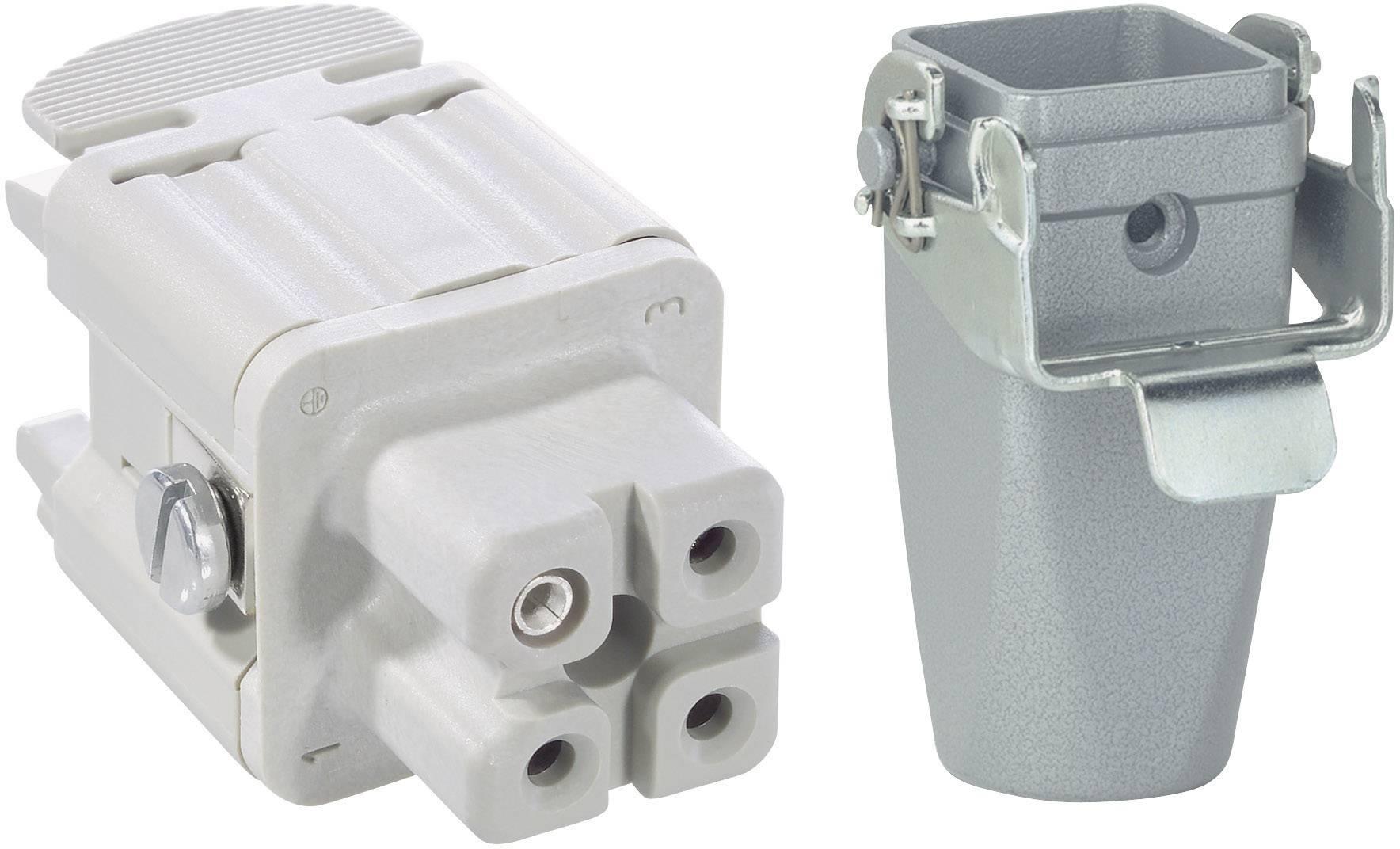 Sada konektorů EPIC®KIT H-A 3 75009612 LAPP 3 + PE šroubovací 1 sada