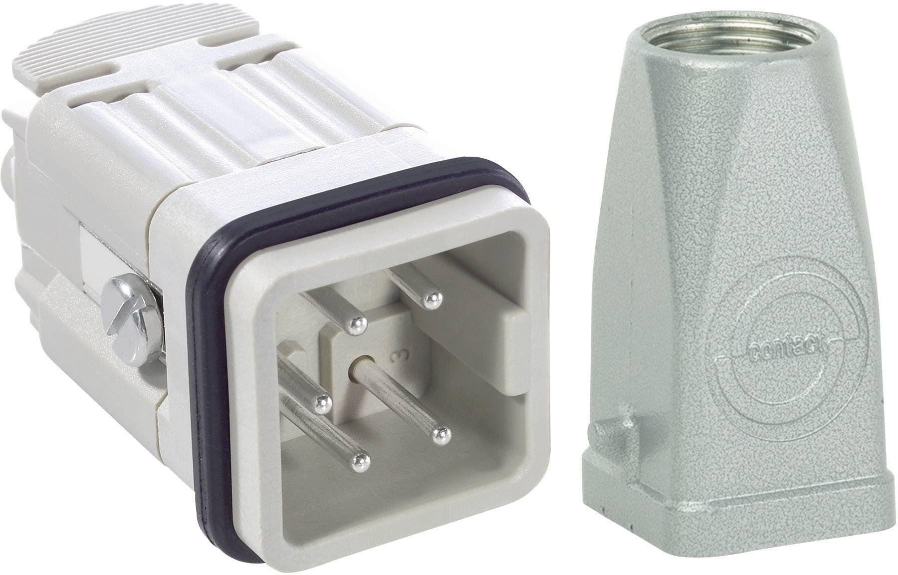 Sada konektorů EPIC®KIT H-A 4 75009614 LAPP 4 + PE šroubovací 1 sada