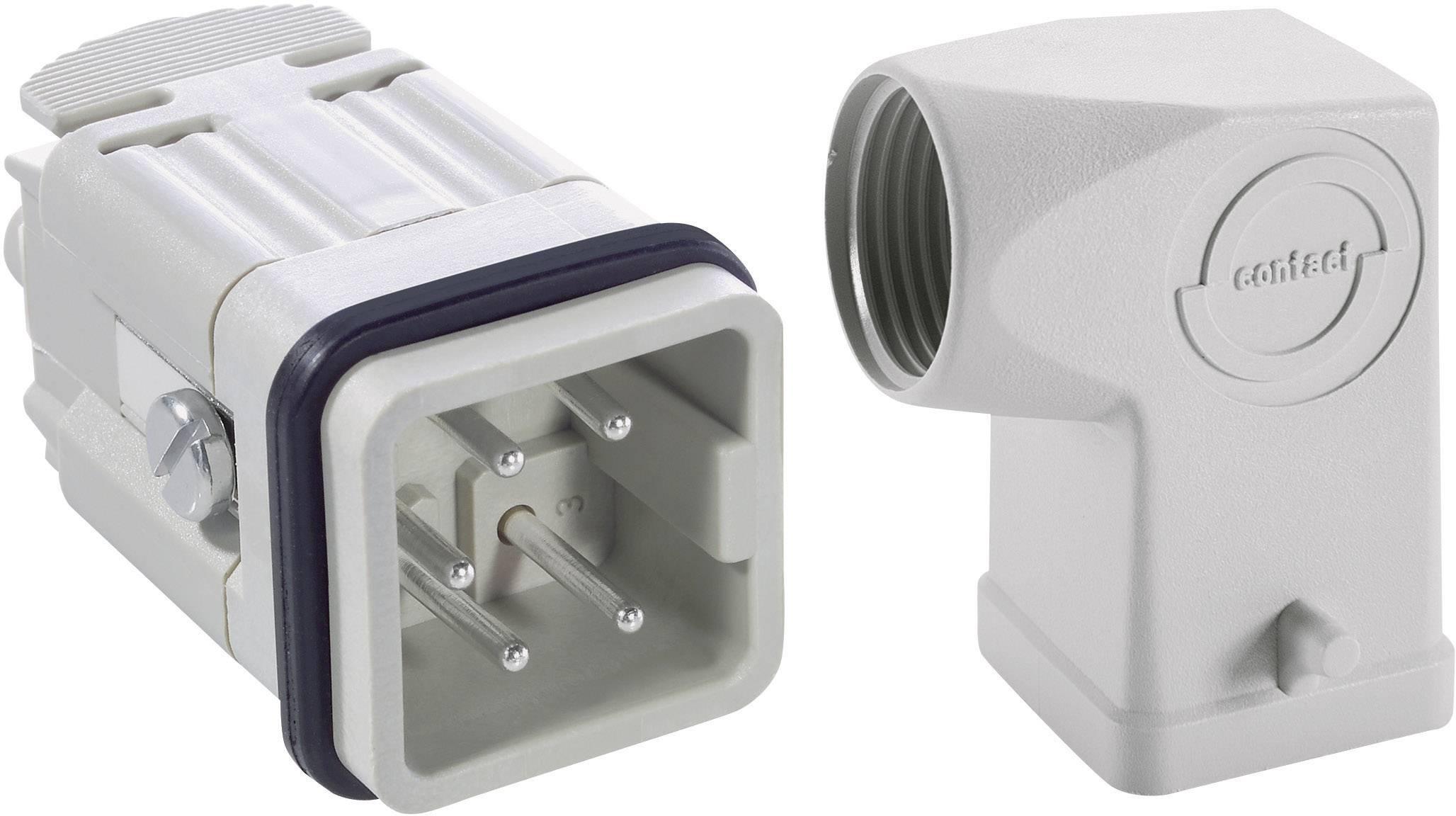 Sada konektorů EPIC®KIT H-A 4 75009615 LAPP 4 + PE šroubovací 1 sada