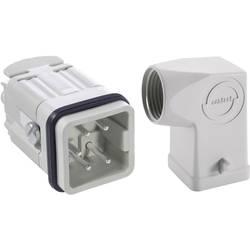 Sada konektoru EPIC®KIT H-A 4 75009615 LAPP 4 + PE šroubovací 1 sada