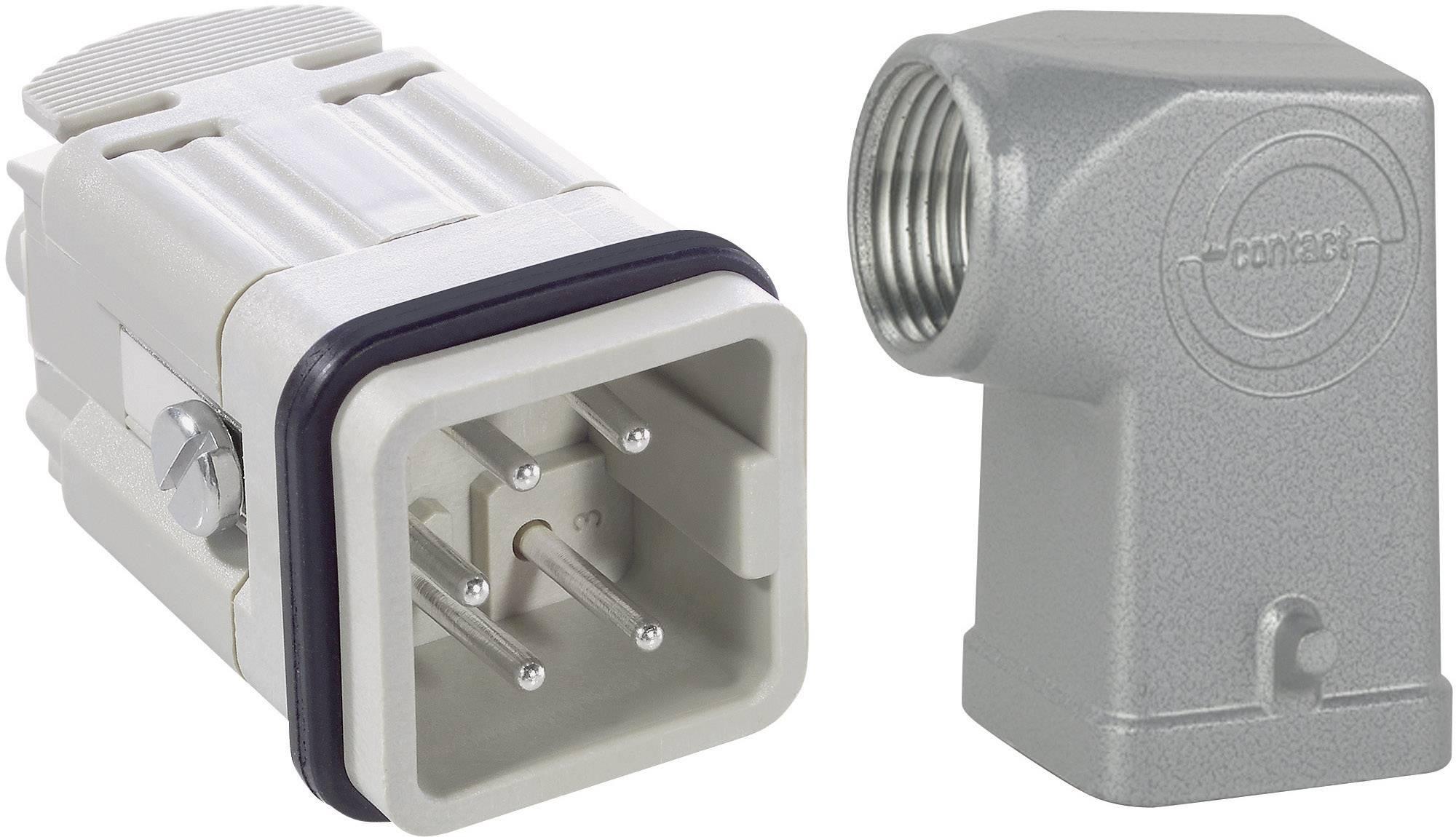 Sada konektorů EPIC®KIT H-A 4 75009616 LAPP 4 + PE šroubovací 1 sada