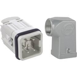 Sada konektoru EPIC®KIT H-A 4 75009616 LAPP 4 + PE šroubovací 1 sada