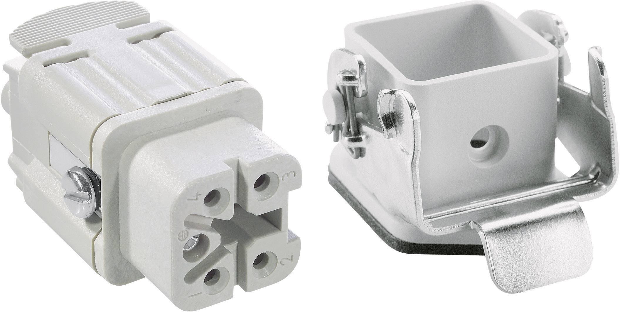 Sada konektorů EPIC®KIT H-A 4 75009617 LAPP 4 + PE šroubovací 1 sada