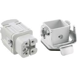 Sada konektoru EPIC®KIT H-A 4 75009617 LAPP 4 + PE šroubovací 1 sada