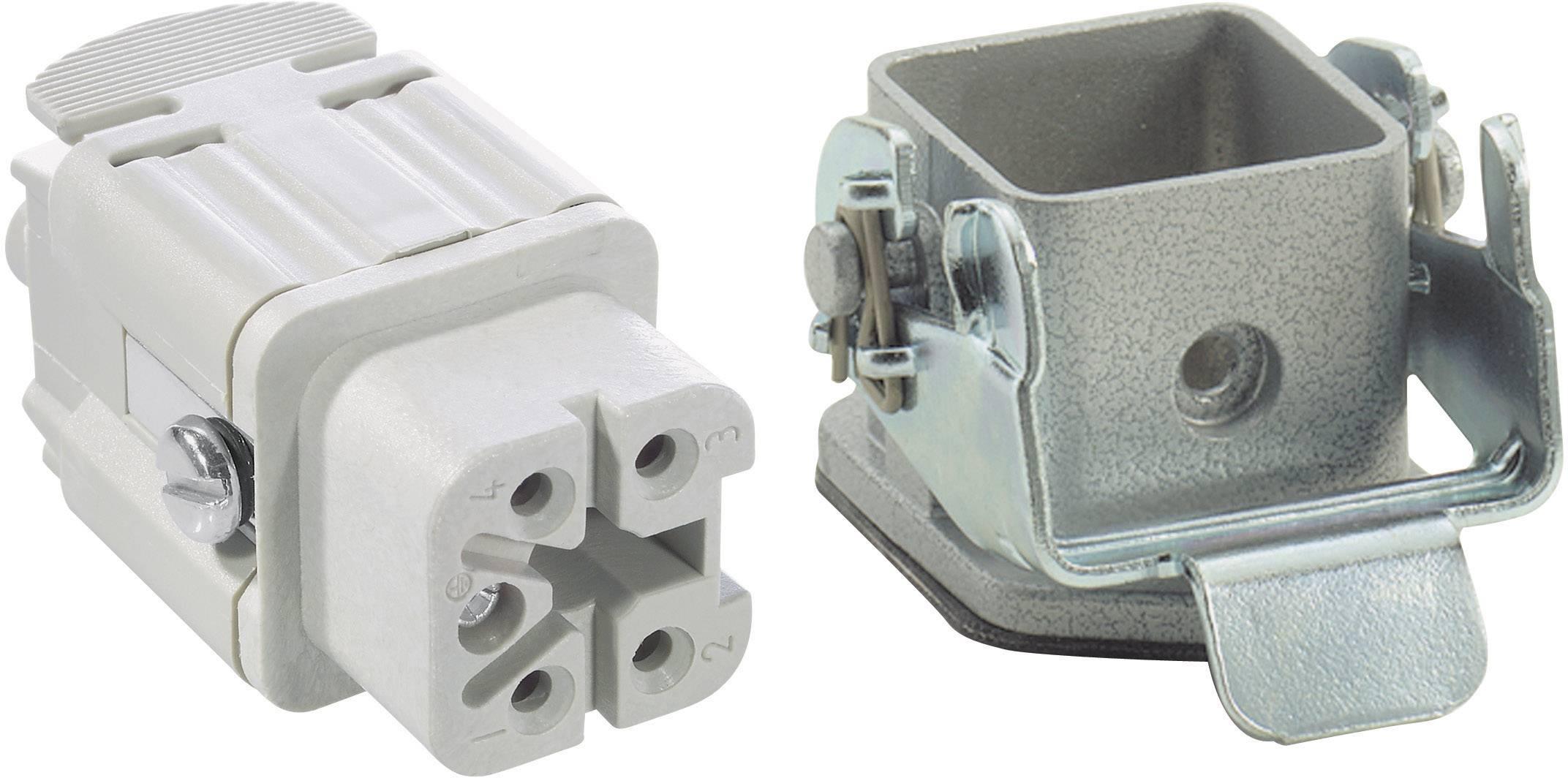 Sada konektorů EPIC®KIT H-A 4 75009618 LAPP 4 + PE šroubovací 1 sada