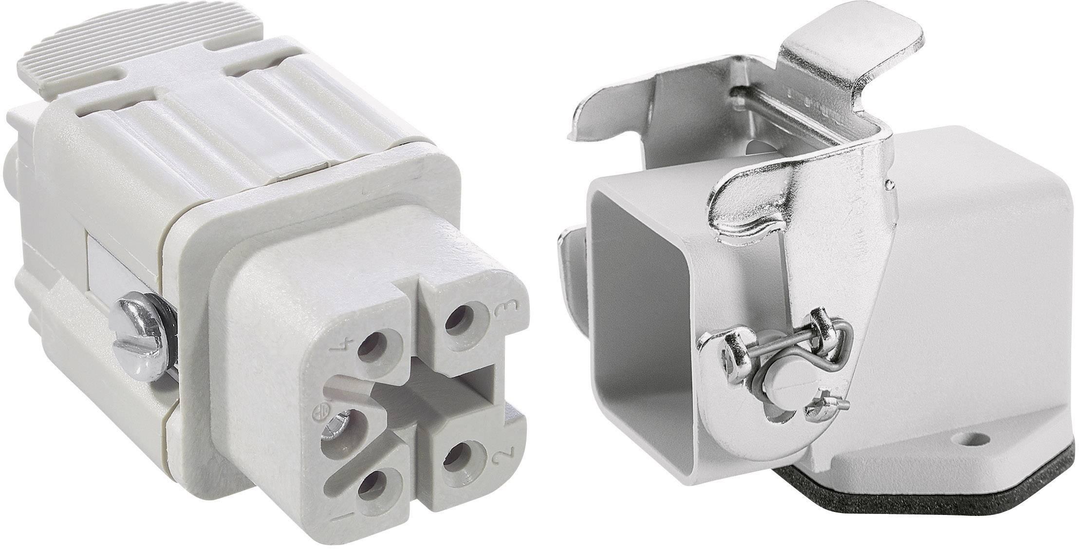 Sada konektorů EPIC®KIT H-A 4 75009619 LAPP 4 + PE šroubovací 1 sada