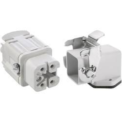 Sada konektoru EPIC®KIT H-A 4 75009619 LAPP 4 + PE šroubovací 1 sada