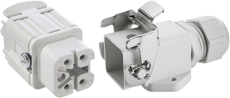 Sada konektorů EPIC®KIT H-A 4 75009621 LAPP 4 + PE šroubovací 1 sada