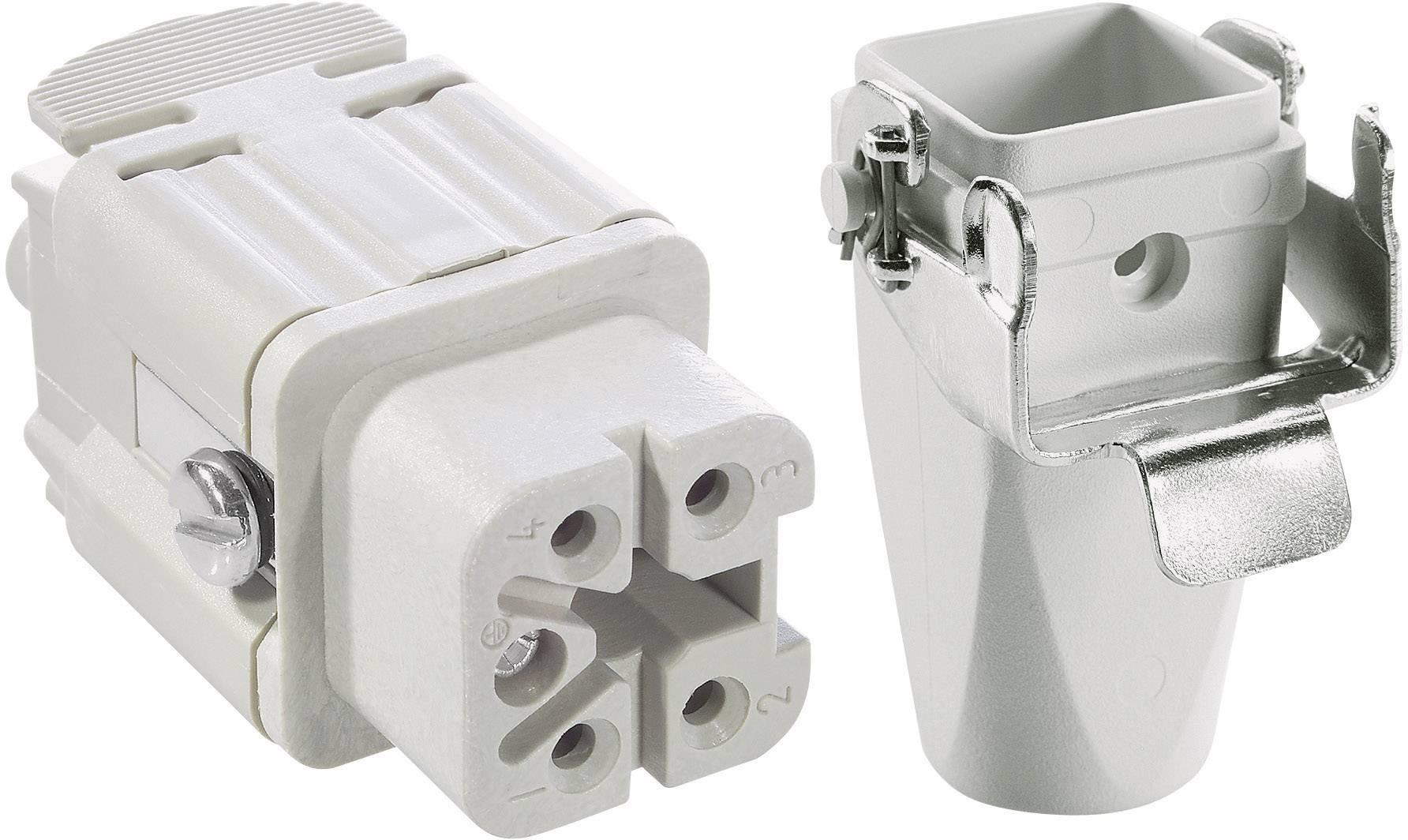 Sada konektorů EPIC®KIT H-A 4 75009623 LAPP 4 + PE šroubovací 1 sada