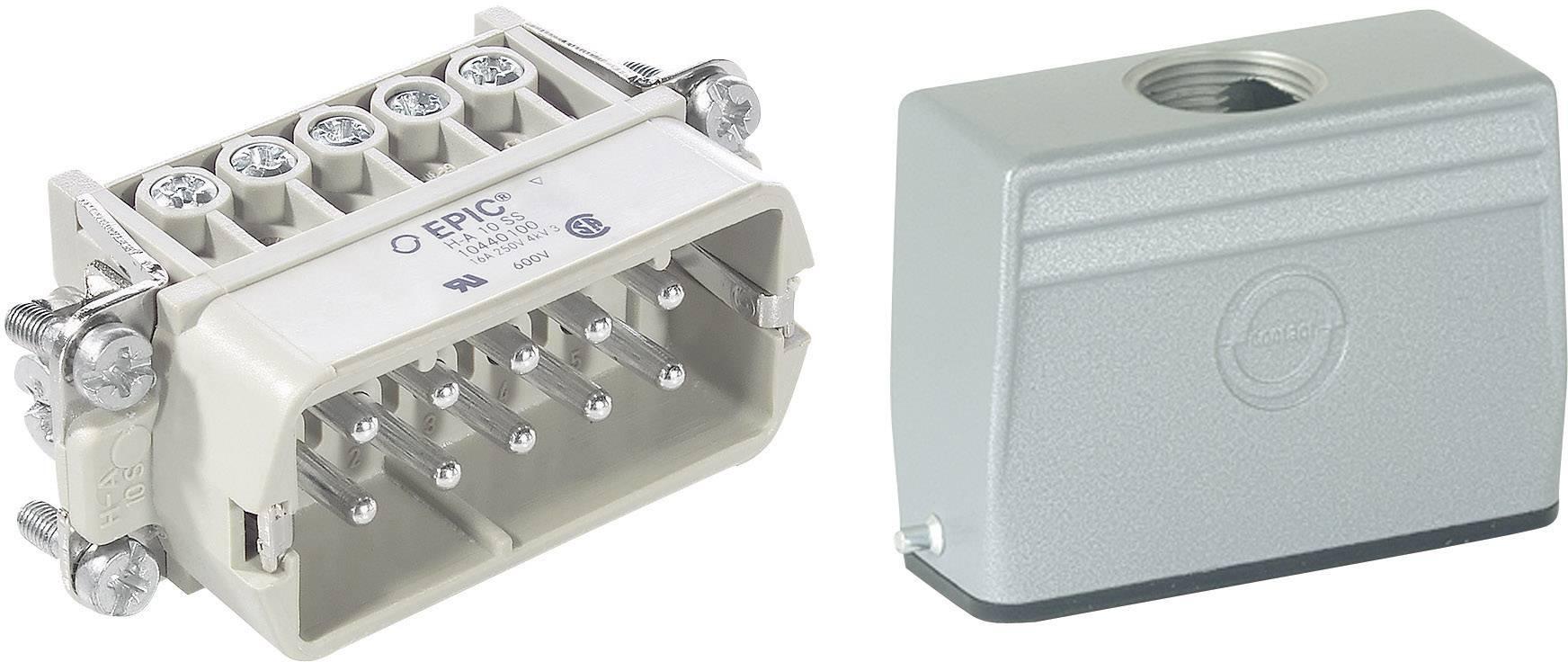 Sada konektorů EPIC®KIT H-A 10 75009625 LappKabel 10 + PE šroubovací 1 sada