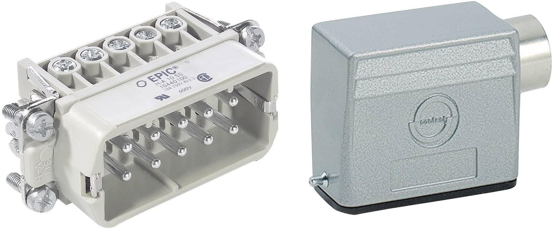 Sada konektorů EPIC®KIT H-A 10 75009626 LappKabel 10 + PE šroubovací 1 sada