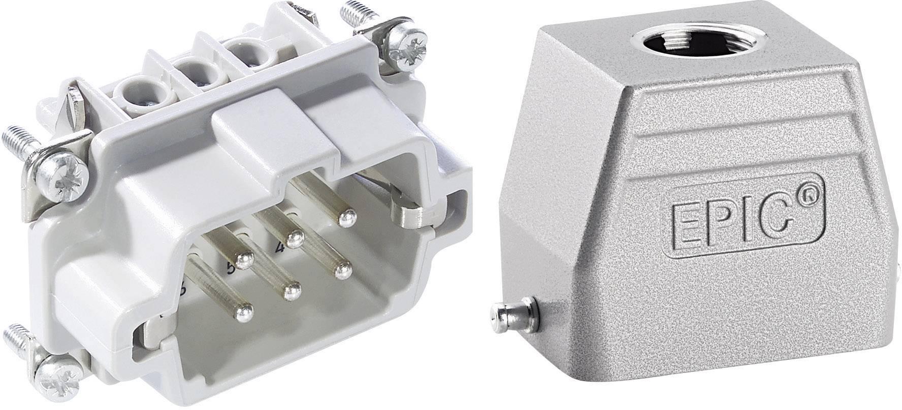 Sada konektorů EPIC®KIT H-BE 6 75009635 LappKabel 6 + PE šroubovací 1 sada
