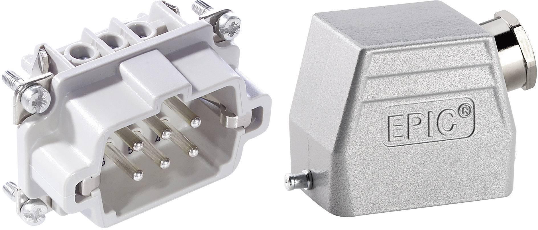 Sada konektorů EPIC®KIT H-BE 6 75009636 LappKabel 6 + PE šroubovací 1 sada