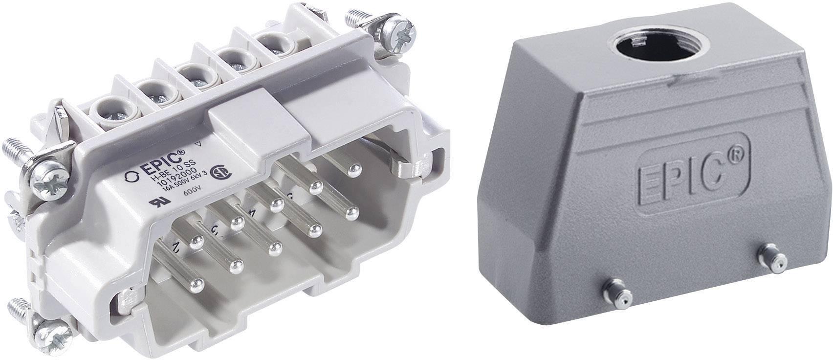 Sada konektorů EPIC®KIT H-BE 10 75009640 LappKabel 10 + PE šroubovací 1 sada