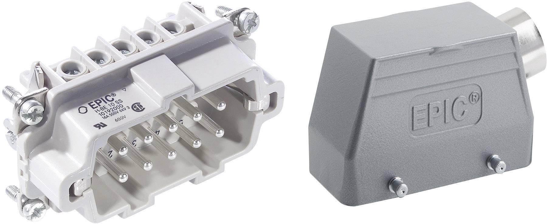 Sada konektorů EPIC®KIT H-BE 10 75009641 LAPP 10 + PE šroubovací 1 sada