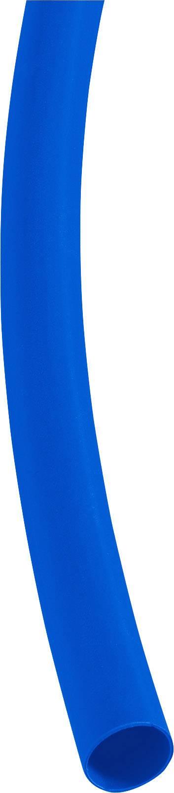 Zmršťovacia bužírka 3/1 mm, modrá