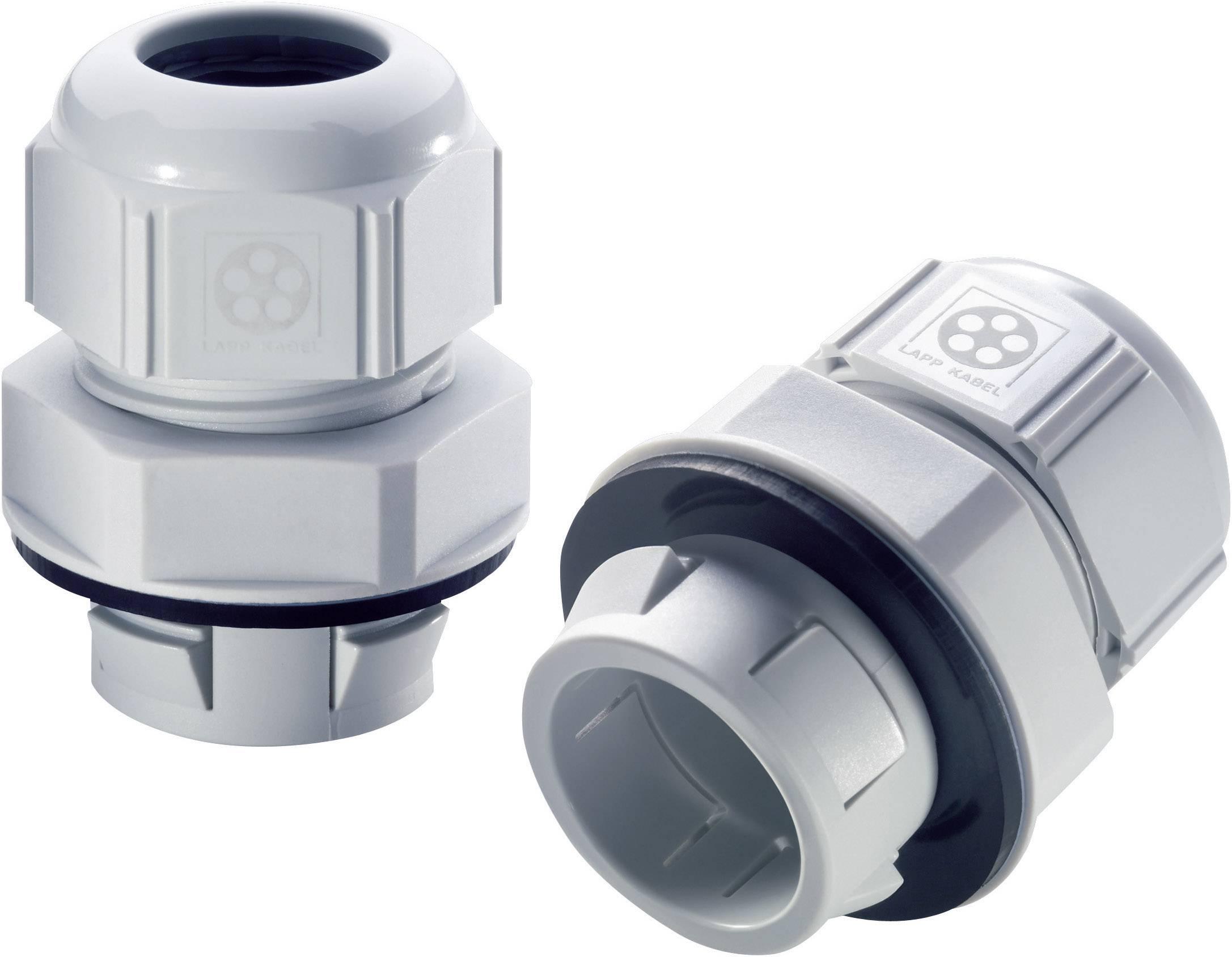 Káblová priechodka LappKabel SKINTOP® CLICK 12, polyamid, svetlo sivá (RAL 7035), 1 ks