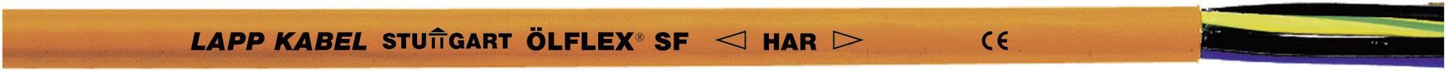 Připojovací kabel LappKabel ÖLFLEX® SF, 0027591, 3 G 0.75 mm², oranžová, 100 m