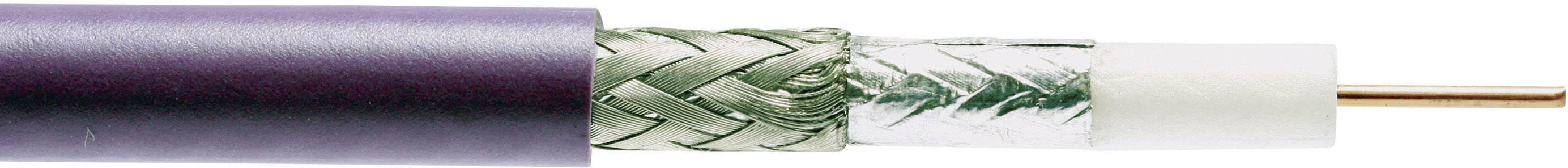 Koaxiálny kábel Belden 1694A-GN, 75 Ohm, metrový tovar, zelená