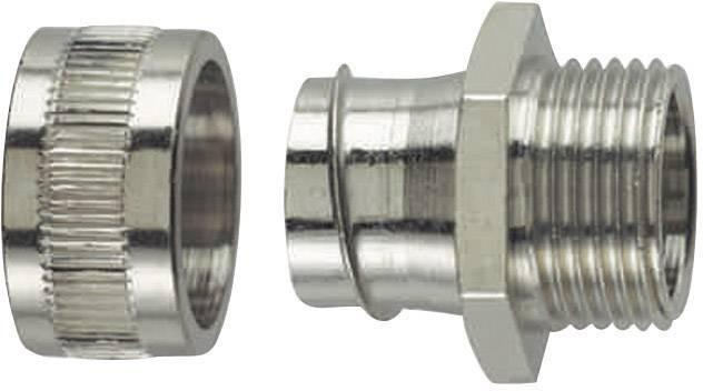 Hadicová spojka rovná HellermannTyton SC16-FM-PG11 166-30314, 13 mm, kov, 1 ks