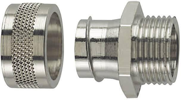 Hadicová spojka rovná HellermannTyton PSC25-FM-M25 166-31005, M25, 21.10 mm, kov, 1 ks