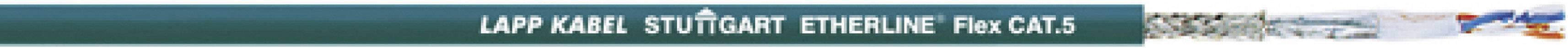 Sieťový kábel ethernetový CAT 5e LappKabel UNITRONIC® EtherLine® P FLEX CAT.5e, SF/UTP, 2 x 2 x 0.12 mm², modrá, metrový tovar