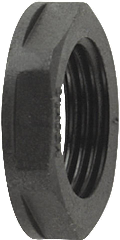 Pojistná matice HellermannTyton ALPA-PG48 (166-50150), černá