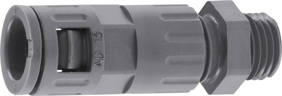 Hadicová spojka rovná LappKabel SILVYN® KLICK GPZ-M IP66 12X1,5 BK 55502809, M12, 6.50 mm, čierna, 1 ks