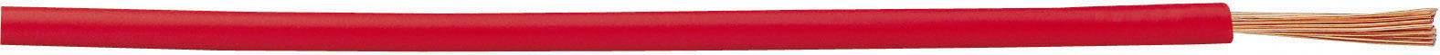 Kabel LappKabel H07V-K 4520041, 1x 1,50 mm², PVC, Ø 3 mm, 1 m, červená