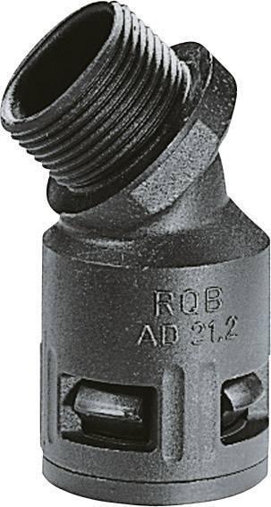 Hadicová spojka 45° LappKabel SILVYN® KLICK 45°B IP66 25x1,5 GY 55502856, M25, 23 mm, sivá, 1 ks