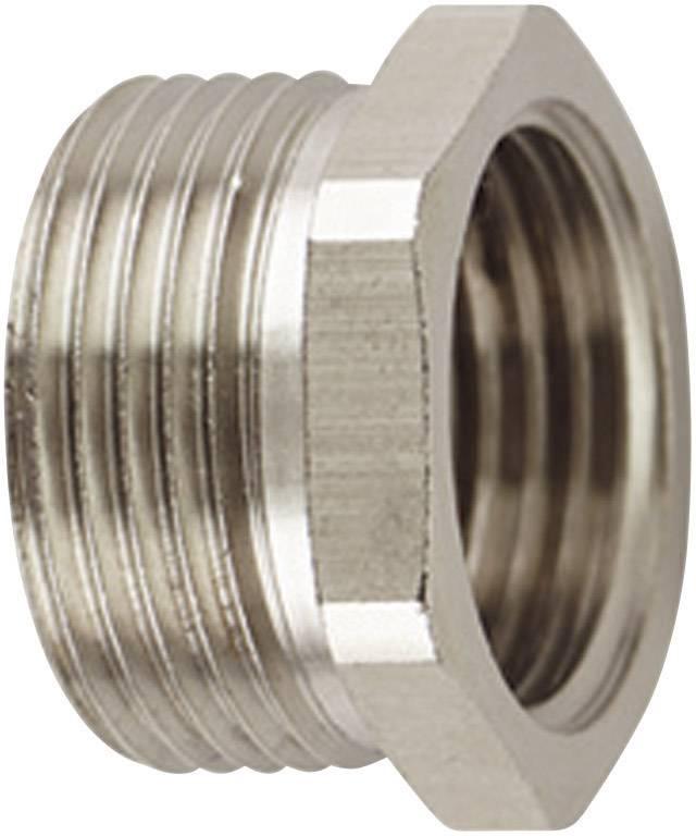 Závitový adaptér HellermannTyton CNV-M25--PG21 166-51027, M25, kov, 1 ks