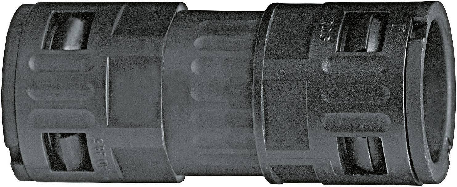 Hadicová spojka rovná LappKabel SILVYN® KLICK KV-M PG36/42,5 BK 55502896, 36 mm, čierna, 1 ks