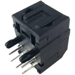 Optický přijímač FC684208R, přenosová rychlost 12,5 MBit/s, -21 dBm