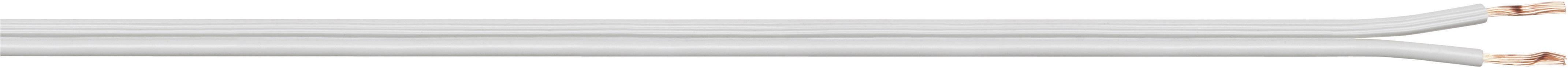 Opletenie / lanko LiY-Z LappKabel LiY-Z 2X0,75 WH, 2 x 0.75 mm², biela, 5 m