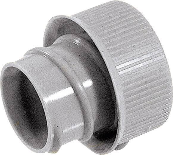 Krytka pro konce hadice rovná LAPP SILVYN® EE-K 13,5 GY 52023370, 19 mm, šedá, 50 ks