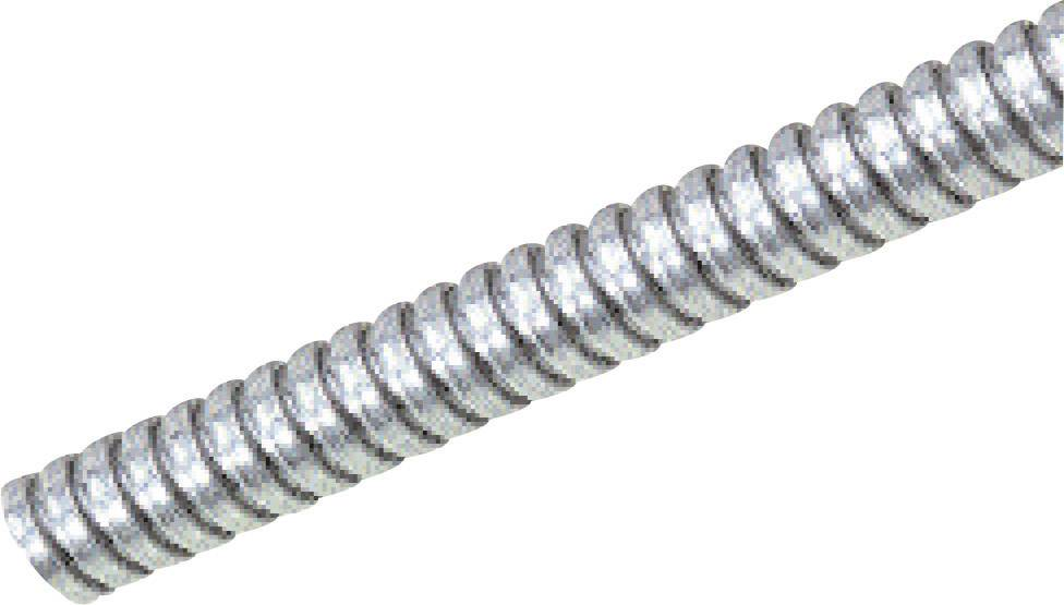 Ochranná hadice na kov LAPP SILVYN® AS 7/8x10 61802080, 8 mm, stříbrná, 5 m