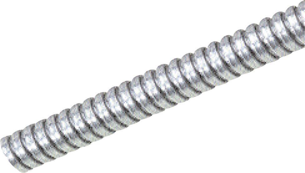 Ochranná hadice na kov LappKabel SILVYN® AS 16/18x21 61802120, 18 mm, stříbrná, metrové zboží