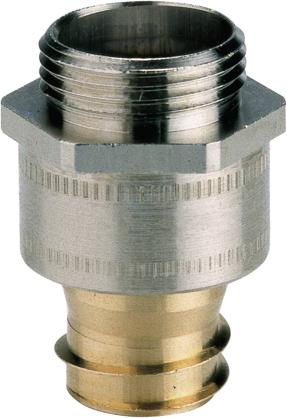 Hadicová spojka rovná LappKabel SILVYN® LI-M 12x1,5 SGY 61802370, M12, stříbrná, 1 ks
