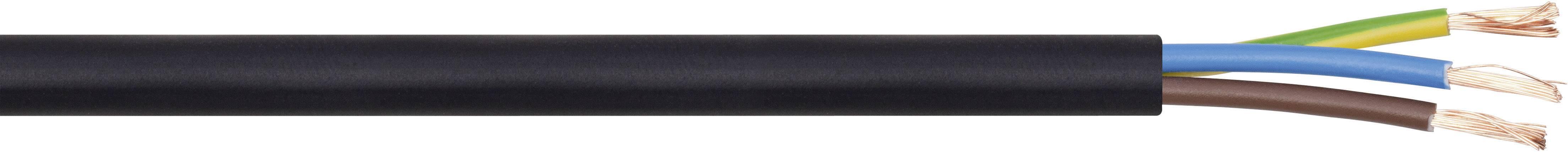 Vícežílový kabel LappKabel H05VV-F, 49900077, 3 G 1.50 mm², černá, metrové zboží