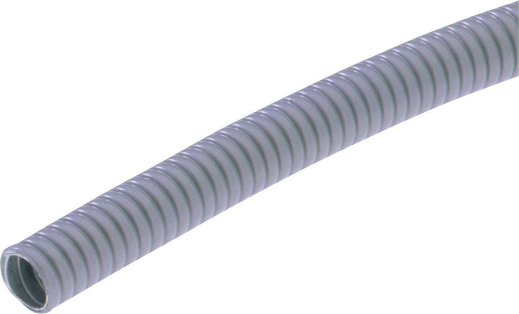 Ochranná hadice na kov LAPP SILVYN® AS-P 7/7x10 10m GY 64400100, 7 mm, šedá, metrové zboží